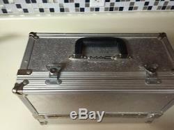 MAC Original 90s Cosmetic Train Case Canada Metal Organizer Case