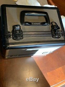 MAC Pro Makeup Vintage Train Case, RARE. With lock/key. Excellent Cond
