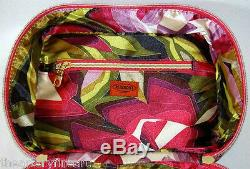 MISSONI x Target Train Case Make-up Tote Passione Purple Zig Zag NEW with Tags
