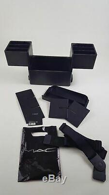 Mac Cosmetics Makeup Case Box Carry All Travel Train for Storage and Organizing