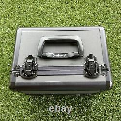 Mac Cosmetics Makeup Train Case Limited Edition withKey & Strap HTF RARE