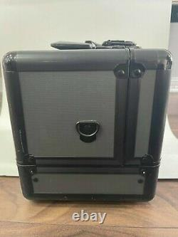 Mac Cosmetics Makeup Train Case Limited Edition withKey & Strap Sanitized+ Cleaned
