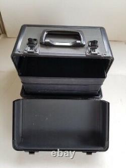 Mac Cosmetics Train Case Makeup Collectors Rare Carry Pro