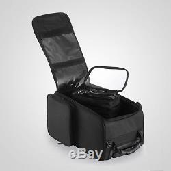 Makeup Cosmetic Case Beauty Trolley Artist Rolling Bag Storage Organizer