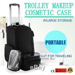 Makeup Nail Trolley MakeUp Soft Cosmetic Case Portable Artist Oraganizer Hot