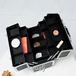 Makeup Train Case Professional 14.4 x 8.7 x 9.8 Large Make Up Artist