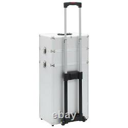 Makeup Trolley Beauty Box Suitcase Hairdressing Cosmetics Salon Case Storage