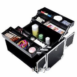 Maletin Profesional Maquillaje Cosmetica Estetica Peluqueria Ligero y Resistente