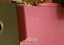 Mega Rare Glamcor M3 Makeup Studio Pink High End Legs Speaker Mirror Trolley
