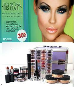 MicaBeauty Cosmetics Professional Artist Mineral Makeup Tan Skin Set