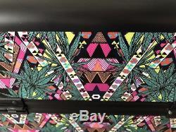 NEW 150$ Sephora Mara Hoffman Kaleidescape Large MAKEUP Traincase Travel Lock