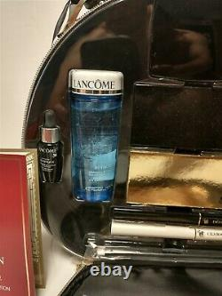 NEW Opened Lancome Holiday Beauty Makeup Cosmetic Bag Train Case 2015