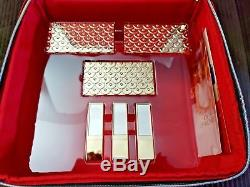 NIB Estee Lauder Blockbuster 2018 Holiday Make Up Gift Set withTrain Case COOL