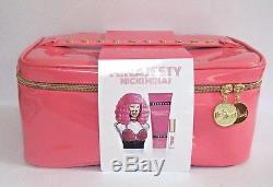 NICKI MINAJ MINAJESTY 3-Pce Gift Set WithCosmetic Box Vanity Train Case 3.4oz EDP