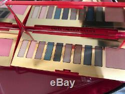 NWT 2019 Estee Lauder Blockbuster Holiday Make Up Gift Set Train Case Cool/Warm