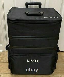 NYX PROFESSIONAL MAKEUP 3-Tier Stackable Makeup Artist Train Case