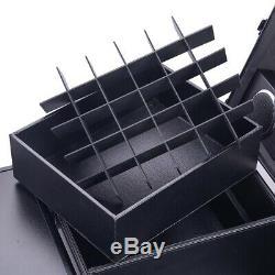 PRE-SALES Aluminum Rolling Makeup Train Case Table Travel Trolley Organizer Box