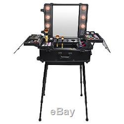 Portable Makeup Artist Studio Cosmetic Organizer With