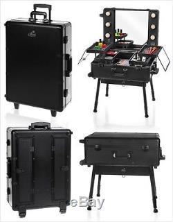 Portable Makeup Artist Studio Cosmetic Organizer With