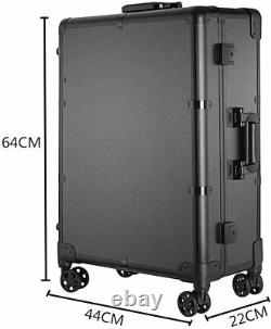 Portable Rolling Studio Makeup Train Case with Lights & Mirror