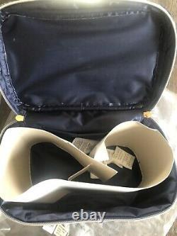Pottery Barn Teen Harry Potter Velvet Train Case Makeup Bag Ravenclaw Blue