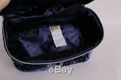 Pottery Barn Teen Harry Potter Velvet Train Case Makeup Bag Ravenclaw Blue #2042