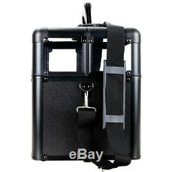 Professional Artist Train Makeup Case Cosmetic Organizer Drawers Lock and Keys