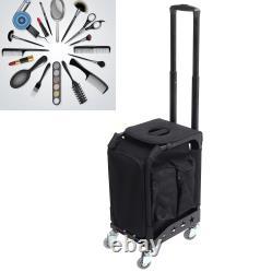 Professional Makeup Rolling Trolley Train Case Artist Train Case Organizer Cases