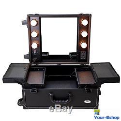 Professional Makeup Station PVC Cosmetic Mirror Light Portable Mirror Artist