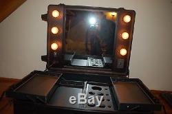 Professional Rolling Studio Makeup Case, gently used