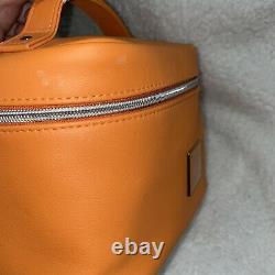 RARE! Jeffree Star THIRSTY Train Case Orange Travel Makeup Bag SAME DAY SHIP