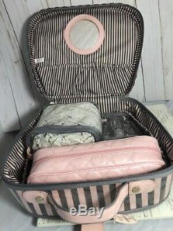 RARE Vintage Collectible Victorias Secret PINK Train Makeup Case New With Tag