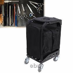 Rolling Trolley Makeup Train Case Professional Artist Train Case Organizer Cases