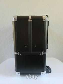SEPHORA ROLLING TRAIN CASE FOR MAKEUP, 14 x 9 x 16