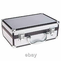 SHANY Carry All Makeup Train Case with Pro Makeup and Reusable Aluminum Case S