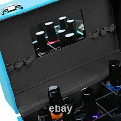 SHANY Color Matters Nail Accessories Organizer and Makeup Train Case Vici