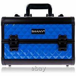 SHANY Premier Fantasy Collection Makeup Artists Cosmetics Train Case Divine