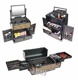 SHANY REBEL Series Pro Makeup Artists Rolling Train Case Trolley Case Spr