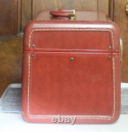 Samsonite Travel Train with TRAY Makeup Case Shwayder Bros Luggage Carry-On Brown