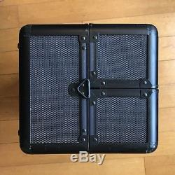 Sephora Pro Collection Train Case Black Cosmetics Box 14 x 8.5 x 9