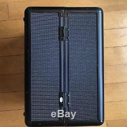 Sephora Pro Collection Train Case Black Cosmetics Box 14 x 8.5 x 9