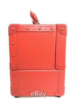 Shu Uemura Red Makeup Box Train Case Limited Edition Japan FLAWS