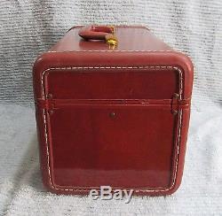 Shwayder Samsonite Ladies Train Case Travel Makeup Hard Suitcase 4912 FREE S/H