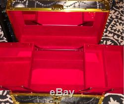 St Valentine Gift Kat Von D 10 Anniversary Train Case Makeup Vanity Nib Ship Now