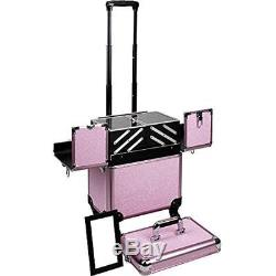 Sunrise Train Cases 2 In 1 Professional Rolling Trolley Wheel Makeup Artist Nail