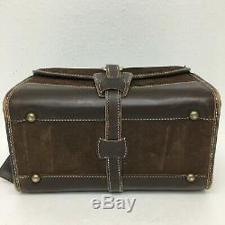 The French Company Train Case Make-Up Cosmetic Bag Luggage Travel