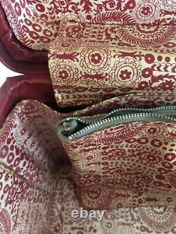 VTG Hartmann Red Train Case Luggage Suitcase Overnight Makeup Good Vintage Piece