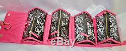Victorias Secret Supermodel MORE BLING Large Train Case Cosmetic Bag SEXY NWT
