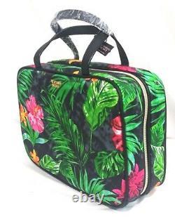 Victorias Secret TROPIC JETSETTER HANGING Travel Train Case Cosmetic Bag NWT