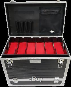 Vincent Master Rolling Clipper -Trimmer Case for Barbers (BLACK) VT10145-BK